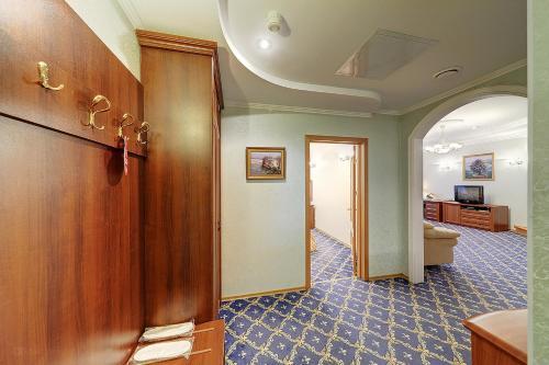 Лобби или стойка регистрации в Гостиница Очарованный Странник