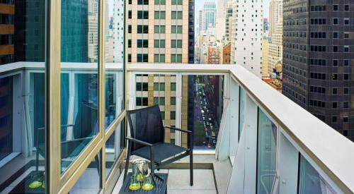 A balcony or terrace at Hyatt Centric Times Square New York