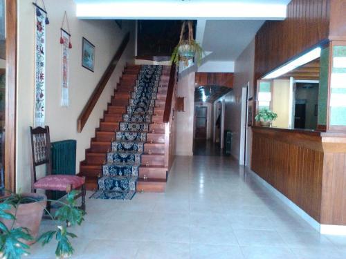 El lobby o recepción de Hotel Novo Siena
