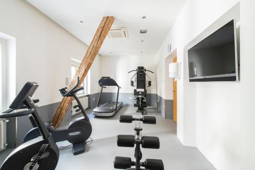The fitness center and/or fitness facilities at Hotel Stiegl Scala