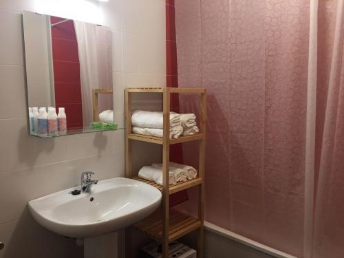 Un baño de Apartamento Carmen