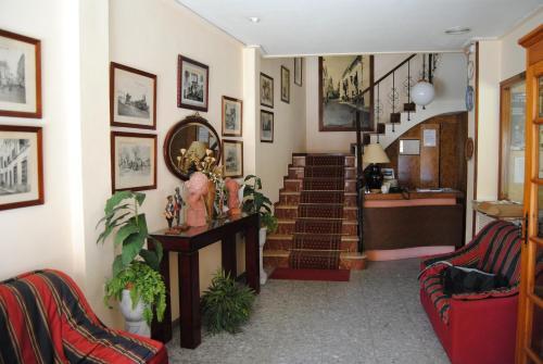 The lobby or reception area at Los Felipes