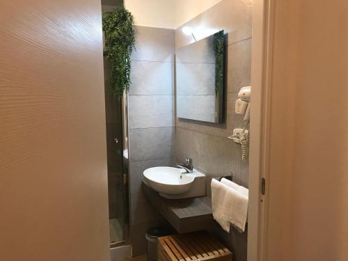 A bathroom at Casa Vittoria