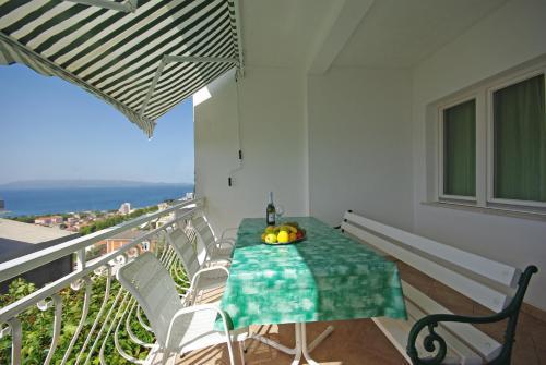 Balkón alebo terasa v ubytovaní Apartments Senka