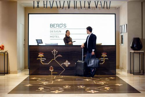 The lobby or reception area at BERDS Chisinau Mgallery Hotel Collection