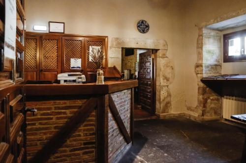 El lobby o recepción de Hotel Convento San Roque