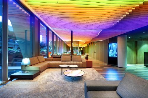 The lobby or reception area at Hotel SB Glow **** Sup