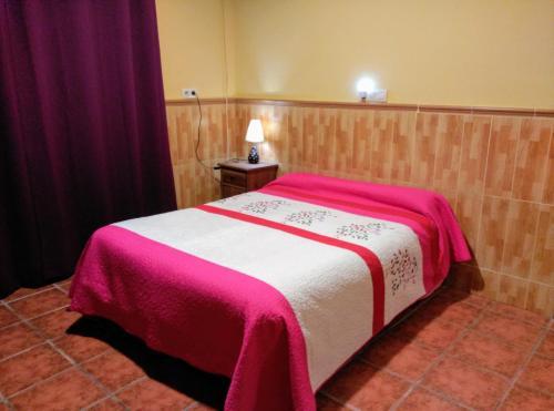 Cama o camas de una habitación en La Derrubiá