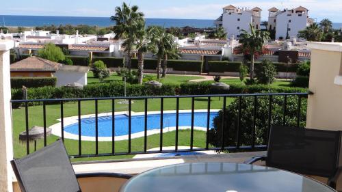 Vista de la piscina de Vera Rental Mirador de Vera o alrededores