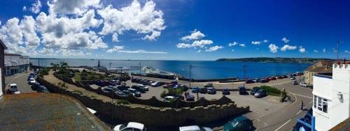 A bird's-eye view of The Yacht Inn