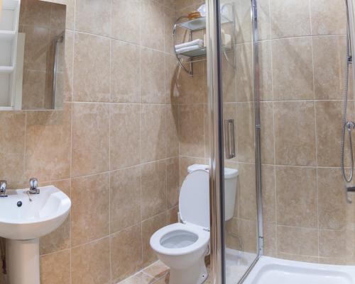 A bathroom at The Trafford Hotel