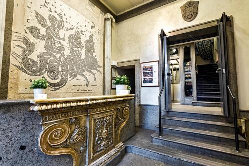 El vestíbulo o zona de recepción de Hotel Diplomatic