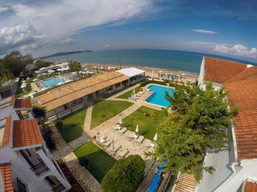 Filorian Hotel Apartments с высоты птичьего полета