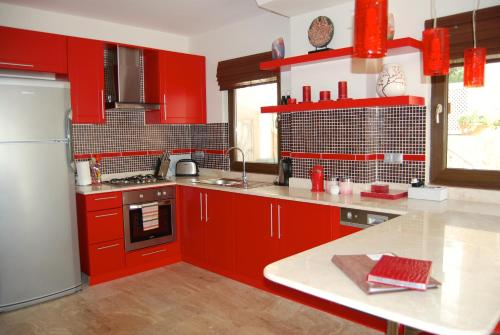 A kitchen or kitchenette at Truffle Residences