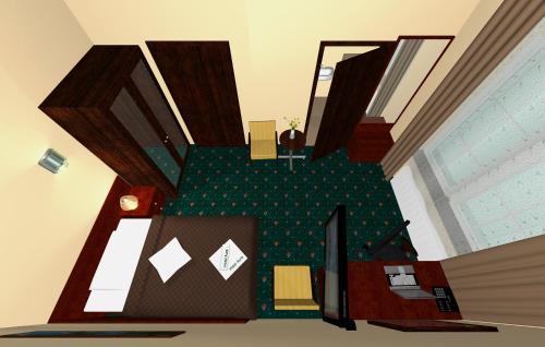 Grundriss der Unterkunft Aura - Hotel & Restaurant & Sauna