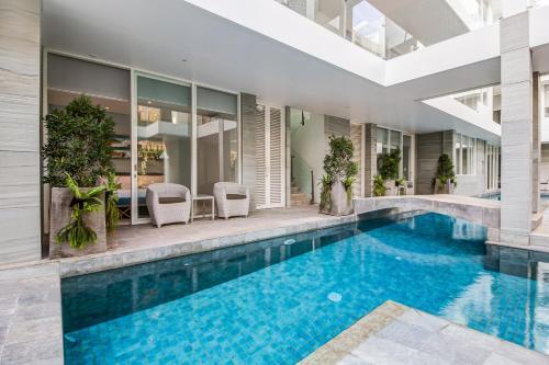 The swimming pool at or close to AQ-VA Hotel & Villas Seminyak
