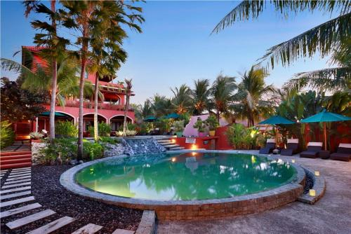The swimming pool at or near PinkCoco Bali - for Cool Adults Only