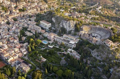 A bird's-eye view of Grand Hotel Timeo, A Belmond Hotel, Taormina