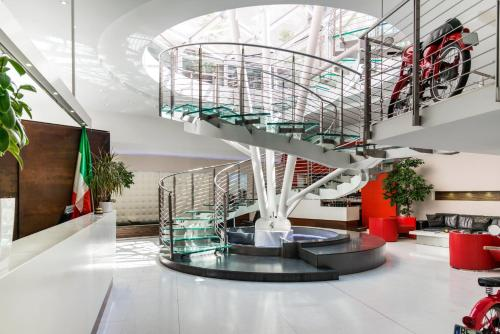 The lobby or reception area at Ibis Styles Milano Centro