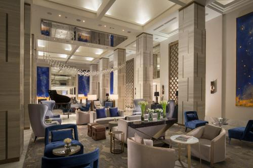 A restaurant or other place to eat at The St. Regis Astana