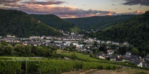 Een luchtfoto van Ferienweingut Göbel