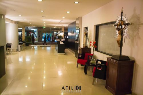 El lobby o recepción de Hotel Las Vegas