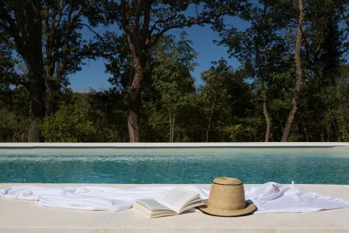 The swimming pool at or near Château de Fonscolombe
