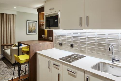 A kitchen or kitchenette at Residence Inn by Marriott Aberdeen