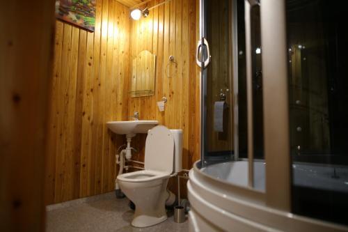 Ванная комната в Автобанька Привал