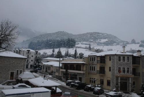 Το Ξενοδοχείο Κύναιθα τον χειμώνα