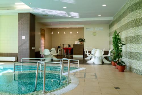 The swimming pool at or near Skyport Hotel