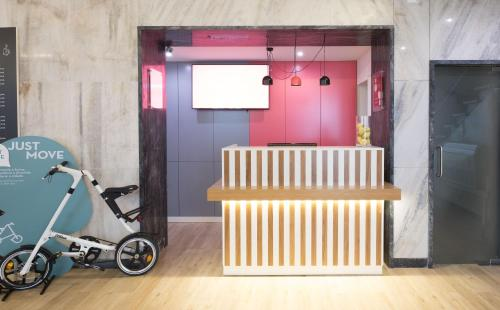 The fitness center and/or fitness facilities at Stay Hotel Évora Centro