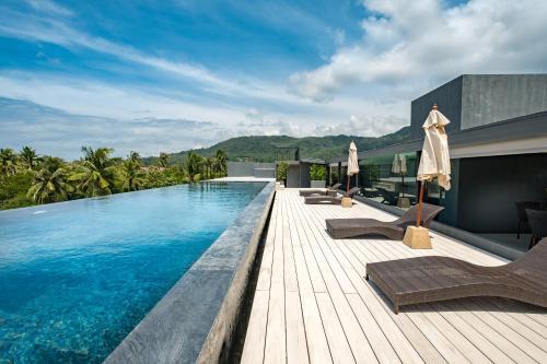 The swimming pool at or close to Kamala Resotel, SHA Plus