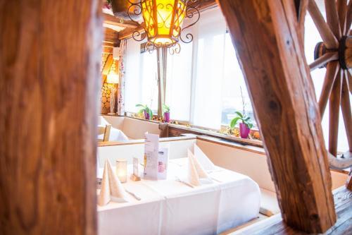 Ein Badezimmer in der Unterkunft Hotel Gasthof Stern