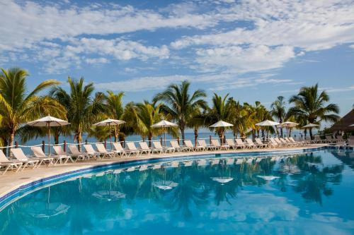 The swimming pool at or near Occidental Cozumel - All Inclusive