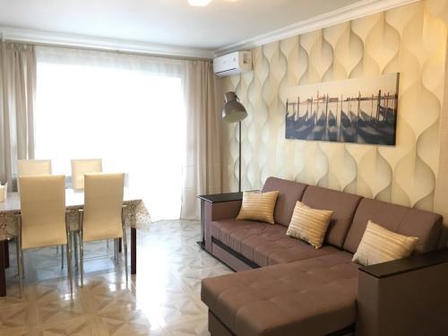 Гостиная зона в Апартаменты Густав Климт