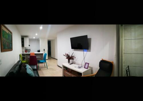 A television and/or entertainment center at Gardenia Apartments