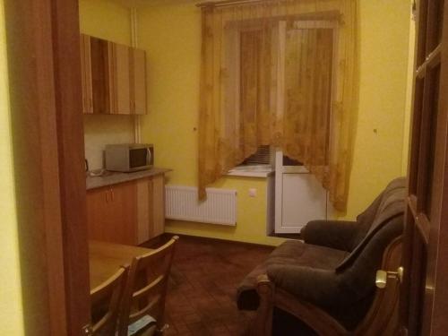 Гостиная зона в Апартаменты 2 х комнатные