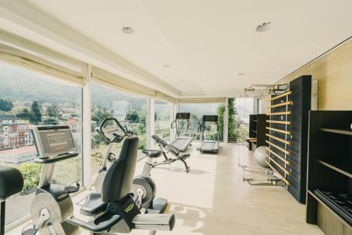 The fitness center and/or fitness facilities at Hotel La Palma