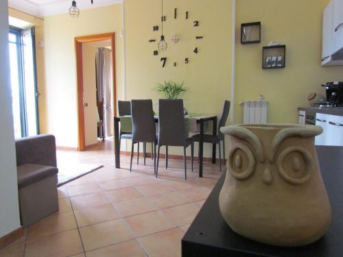 A seating area at Al Nove e TreQuarti