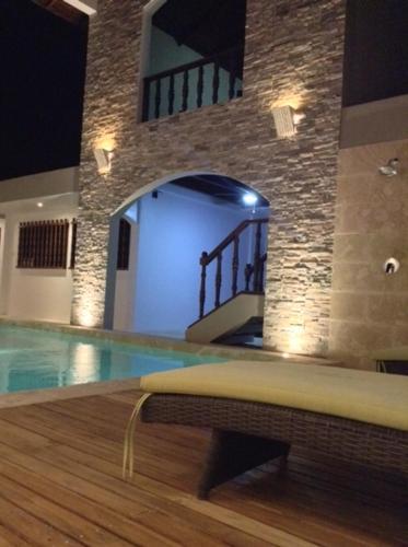 Het zwembad bij of vlak bij Hotel Flor De Sarta