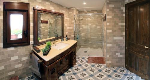 Un baño de Casa El Maguillo Jalón