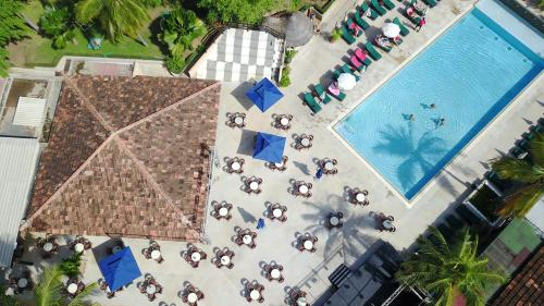 Een luchtfoto van Le Saly Hotel & Hotel Club Filaos
