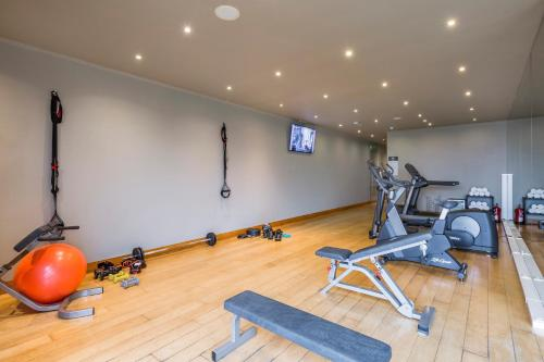 The fitness center and/or fitness facilities at Villa C Boutique Hotel - Design Hotels