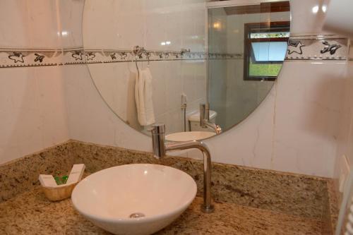 A bathroom at Hotel Matsubara