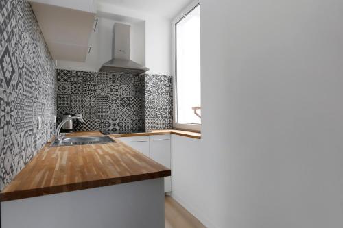 Kuchnia lub aneks kuchenny w obiekcie VIU Good Morning Sopot
