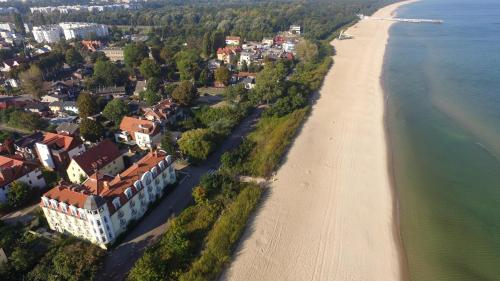 Widok z lotu ptaka na obiekt Hotel Lival