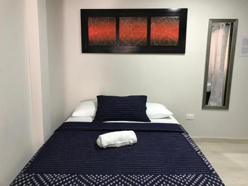 Cama o camas de una habitación en Caribbean Island Hotel