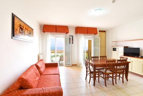 Area soggiorno di Hotel Villa Olga