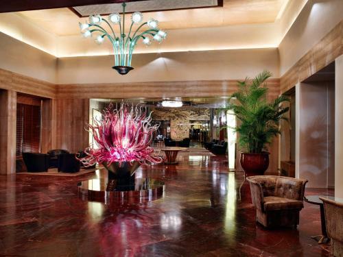 Lobby/Rezeption in der Unterkunft Bauer Palazzo